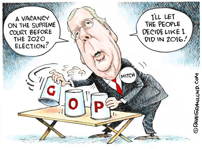 Editorial cartoon: Dave Granlund