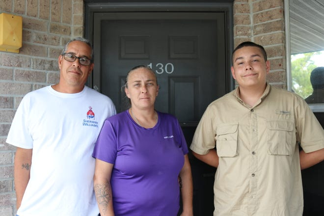 Michael Micheli and his wife, Kelly, both lost their jobs over the last six months while their 15-year-old son, Nikko, was home from school over the summer. Assistance from Season of Sharing in April helped them pay rent to avoid falling behind on bills.