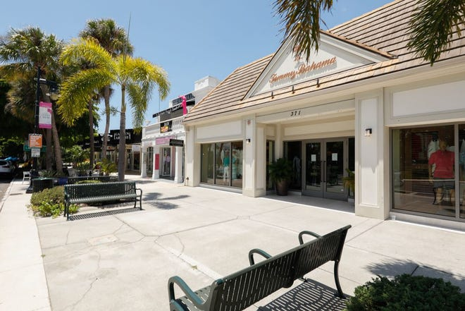 The building at 371 St. Armands Circle leased to Tommy Bahama has been sold.