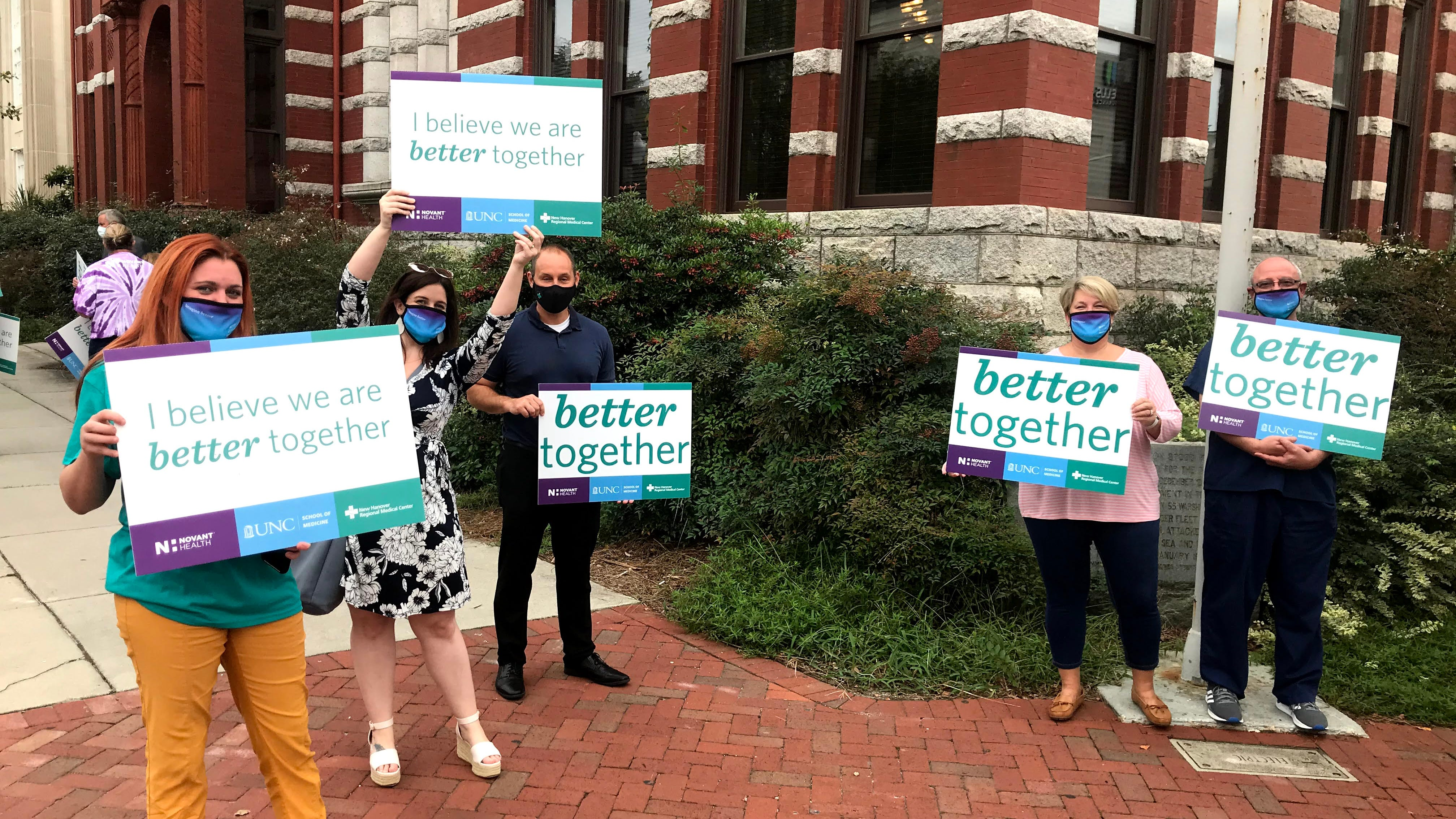 Few spoke in opposition of selling Wilmington health system to Novant