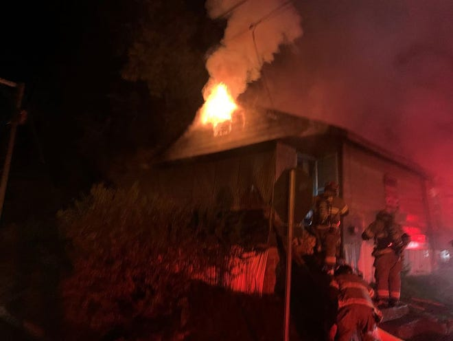 The Tuscaloosa Fire Rescue responded to a structure fire in Holt late Sunday, Sept. 27, 2020.