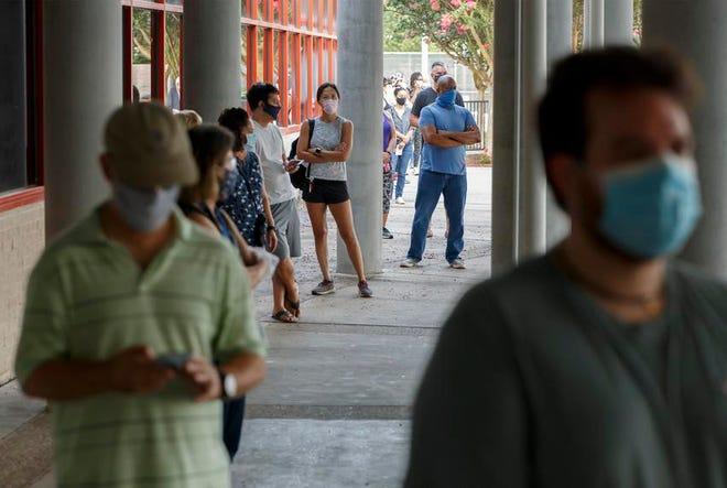 The Texas Legislature eliminated straight-ticket voting in 2017.
