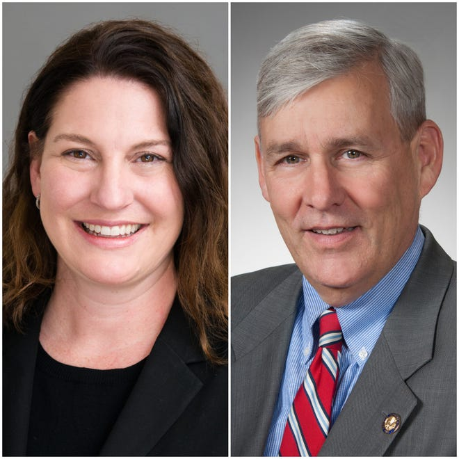 Democrat Sara Bitter faces off against Republican Rep. Tom Brinkman for the 27th House District.