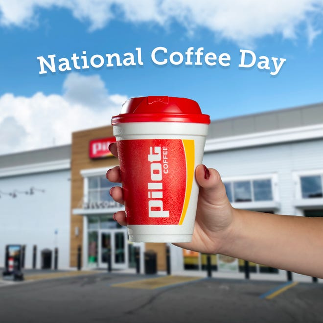 Pilot Flying J coffee is free on National Coffee Day