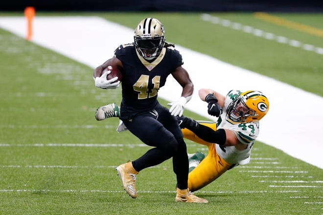 Detroit Lions' next opponent: Alvin Kamara's big night not enough to push New Orleans Saints past Green Bay Packers