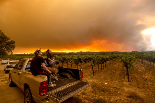 Not just wine. Experts say the fire, smoke plumes, and ash falling to the ground can all negatively impact both the quality and the yields of marijuana in one of the top producing areas in the U.S.