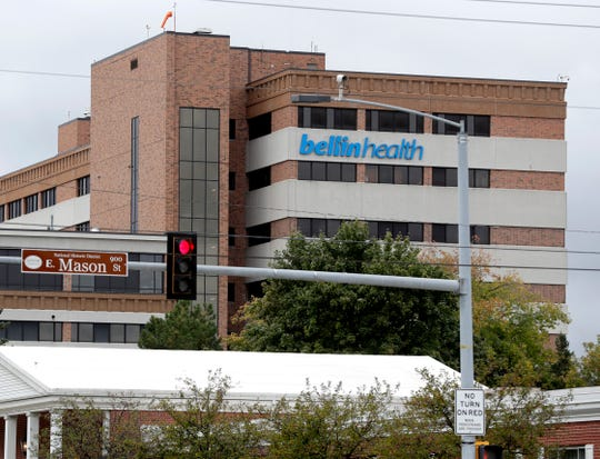 Bellin Hospital, 744 S. Webster Ave., in Green Bay.