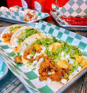 The Al Pastor tacos at I Love Tacos.
