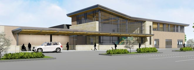 Rendering of the new BayCare Clinic set to open in September 2021 in Manitowoc.