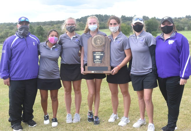 The El Dorado Lady Wildcats won the Class 5A State championship on Monday at Big Creek Golf & Country Club.