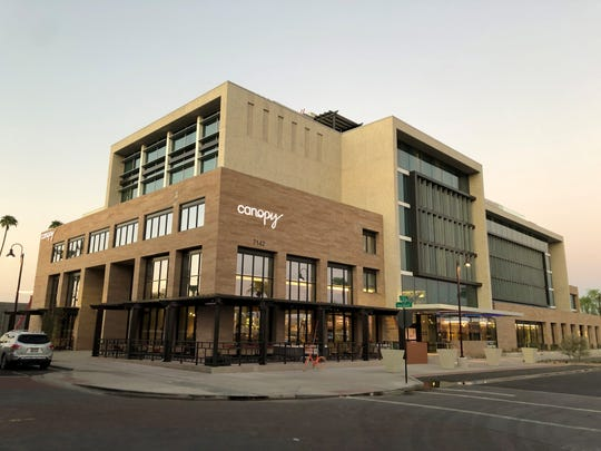 Canopy by Hilton Old Town Scottsdale opens Oct.1 and features two dining concepts: Cobre Kitchen + Cocktails and Outrider Rooftop Lounge.