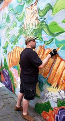 The Art in Public Places award goes to John Breiner, who has lent his artistic skills in producing murals in the City of Poughkeepsie.