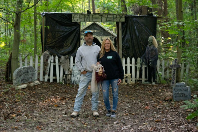 Lee and Lisa Emerson are ready to welcome guests to Nightmare in Nashport beginning this Friday evening.