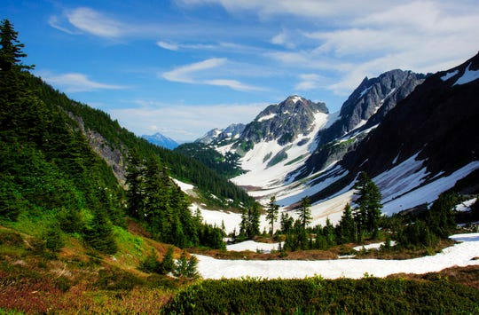 North Cascades National Park, located about  2½ hours  north of Seattle, is often called the American Alps.