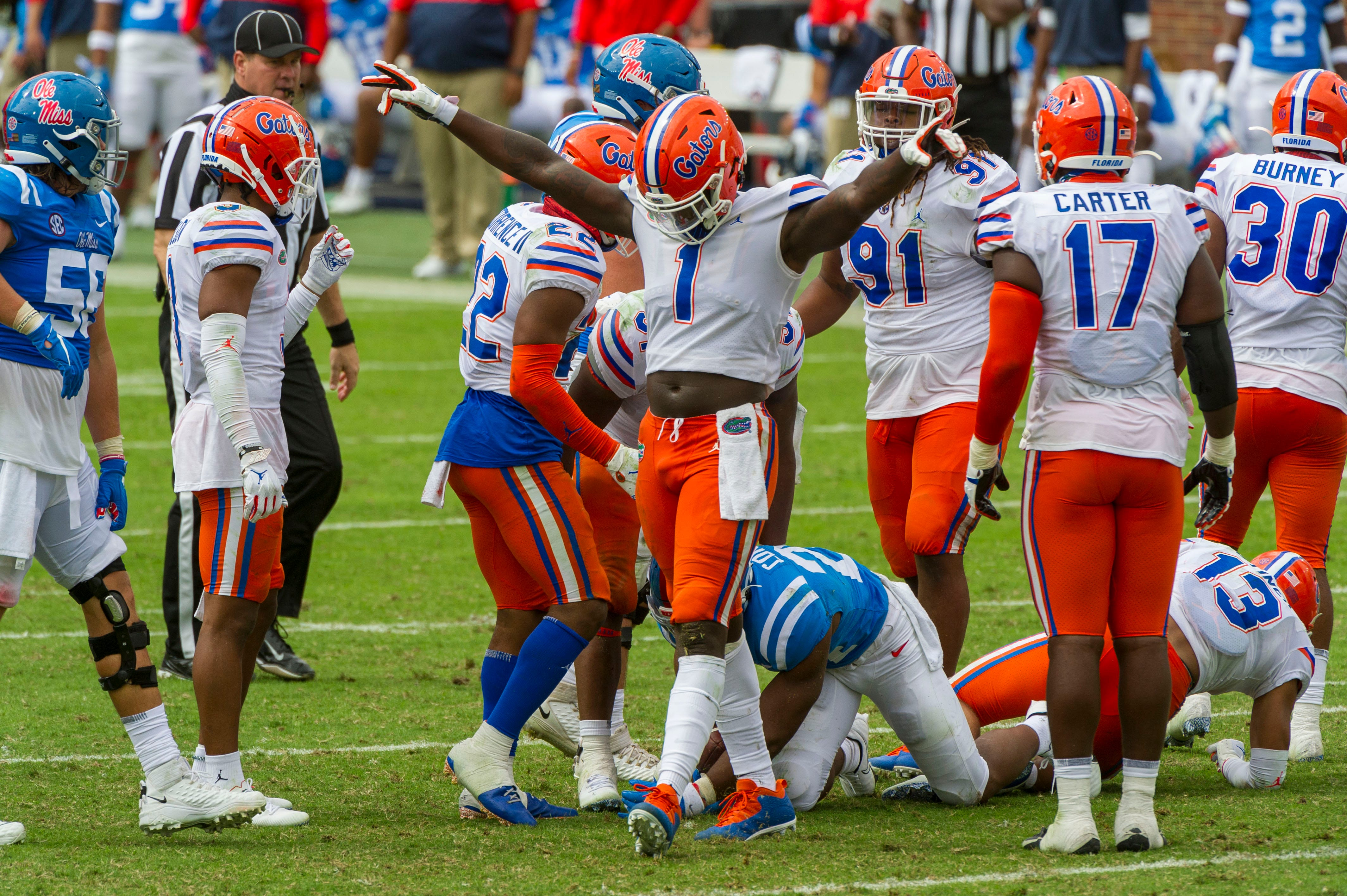 Bowl projections:  Florida joins College Football Playoff field among major changes this week