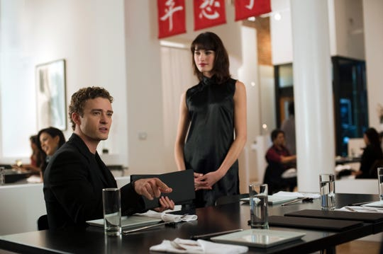 Justin Timberlake plays Sean Parker, the founder of Napster, who suggests that the company moves to Palo Alto, California.