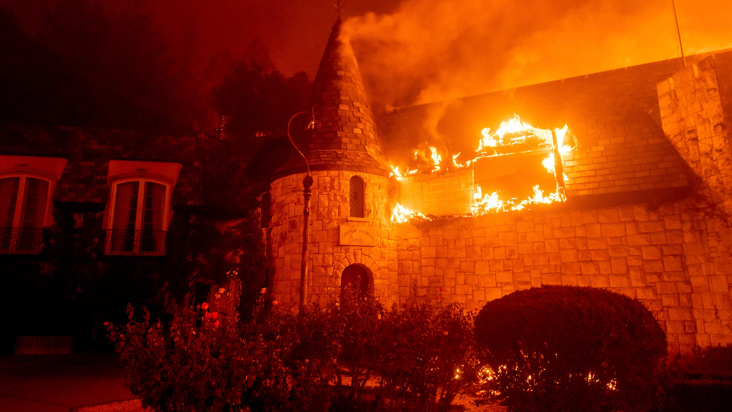 'Simply heartbroken': Photos show Glass Fire's devastating impact on Chateau Boswell winery in California's Napa Valley – USA TODAY