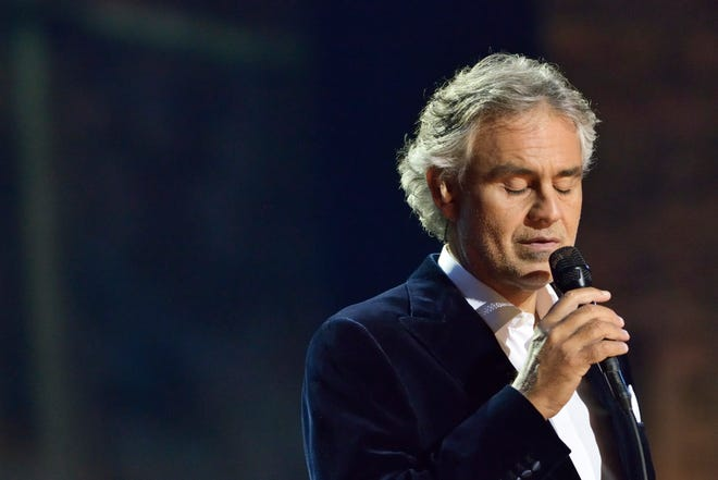 Andrea Bocelli kicks off his North American tour in Milwaukee in October.
