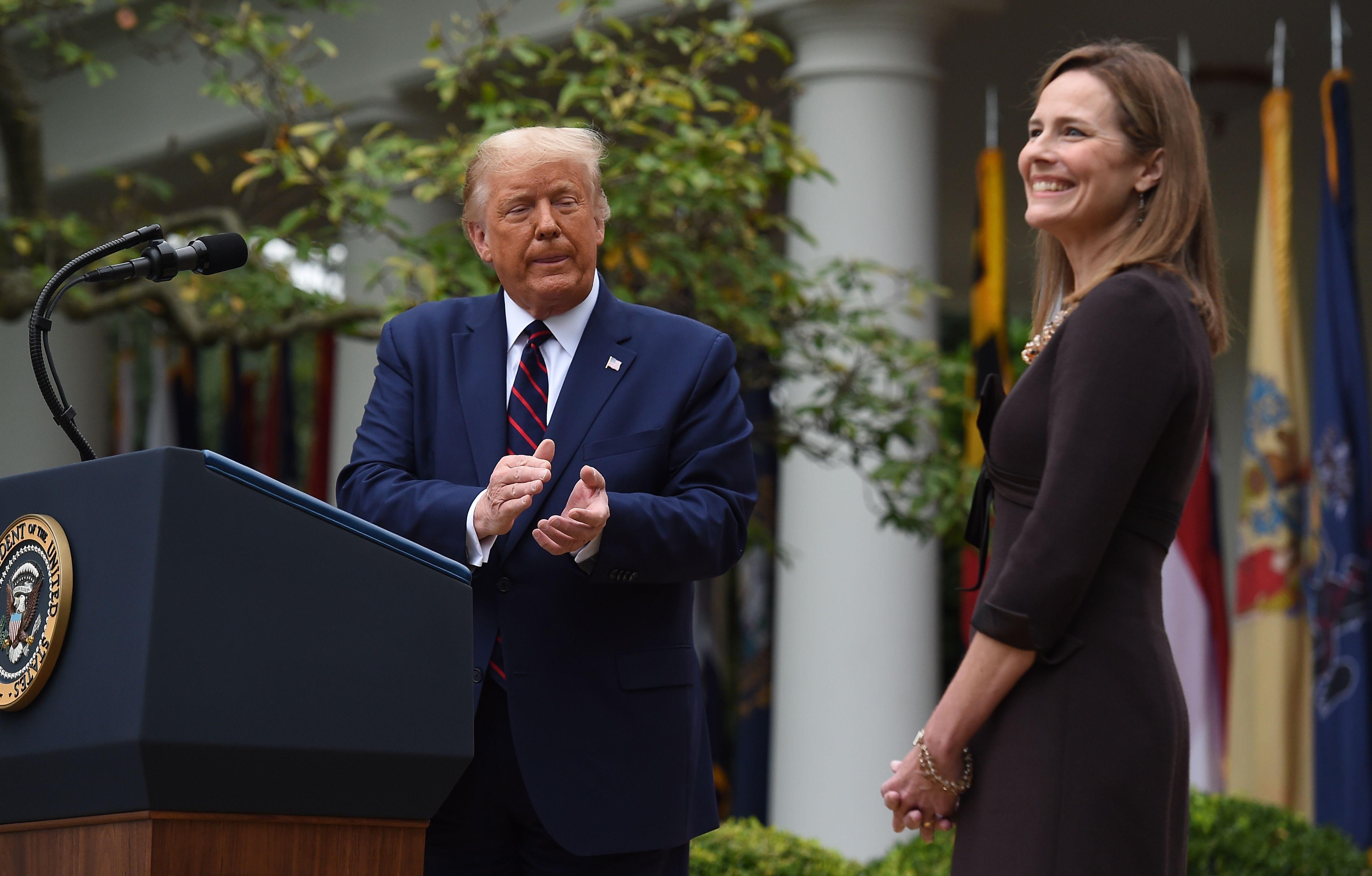Amy Coney Barrett seals Trump campaign pledge to remake Supreme Court