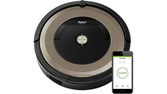 One of the most popular vacuum brands? iRobot Roomba.
