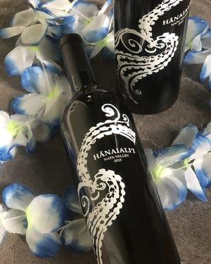 Hanaiali'i merlot is made by Smith Devereaux Winery in Napa Valley. [Phil Masturzo/Beacon Journal]
