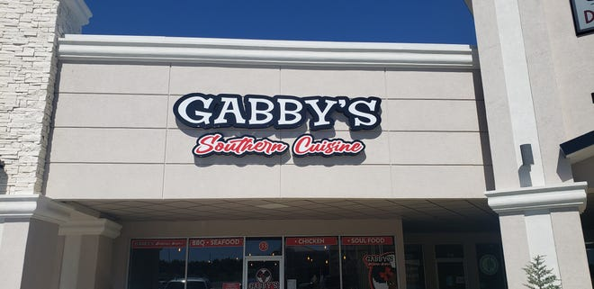 Gabby's Southern Cuisine opened earlier this month in Thompson Square. The restaurant is a partnership between native Ardmoreite Ondre Reynolds and chef Jerry Summers who met while serving in the United States Air Force.