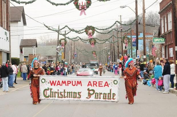 The Wampum Area Christmas Parade traditionally draws hundreds to the borough each year. This year, however, the event has been canceled for health and safety reasons.