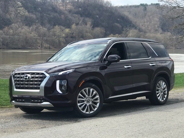 The 2020 Palisade is a family-friendly SUV from Hyundai.