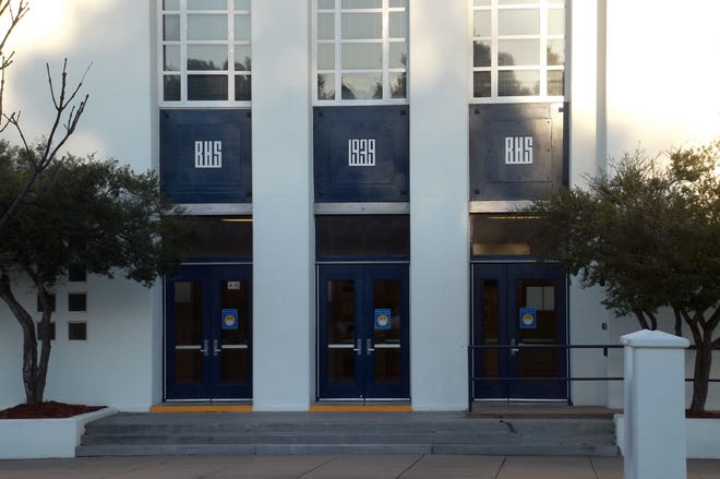 Bartlesville High School entry way