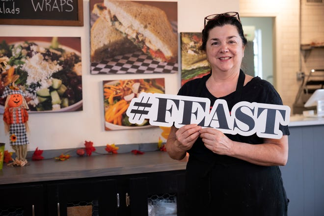 Chef Michele Farmer opened FEAST in the Mount Dora Marketplace in January after battling cancer and starting up her own prepared meal delivery company.