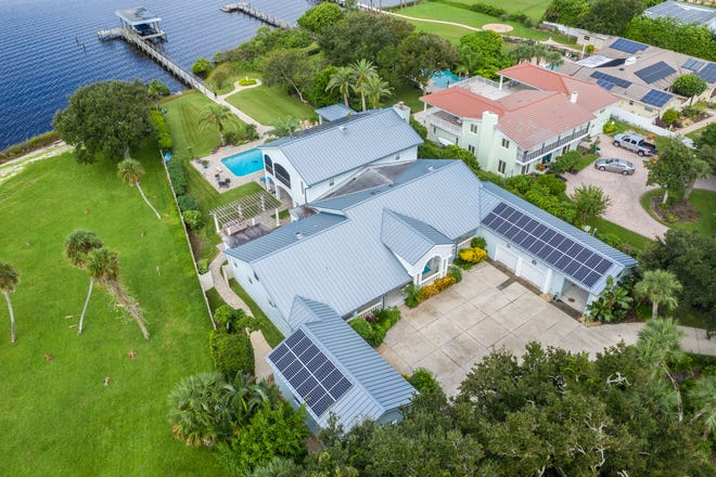 """Located in an area that is historically referred to as Daytona Beach's """"Doctors' Row,"""" this immaculate estate comes with a monthly FPL bill of under $30, thanks to a sophisticated rooftop solar field."""