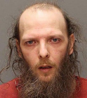The police photo of Joseph A. Oberlander after Millcreek Township police charged him with homicide in December 2016. He was accused in the stabbing death of John Trusty at the Granada Apartments on Dec. 2, 2016.