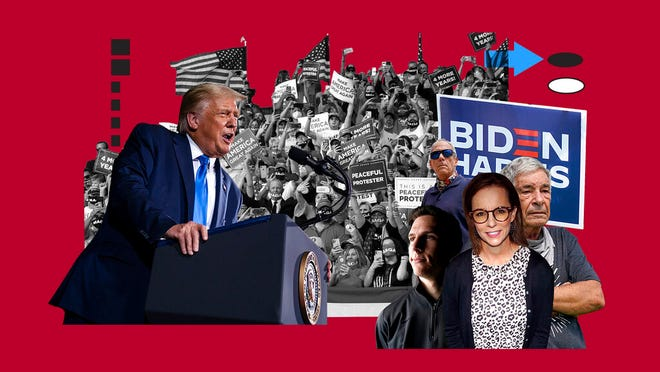 President Donald Trump's reelection depends largely on energizing his seemingly immovable base of support. But there are defectors, and they are finding one another on social media and sharing their stories.