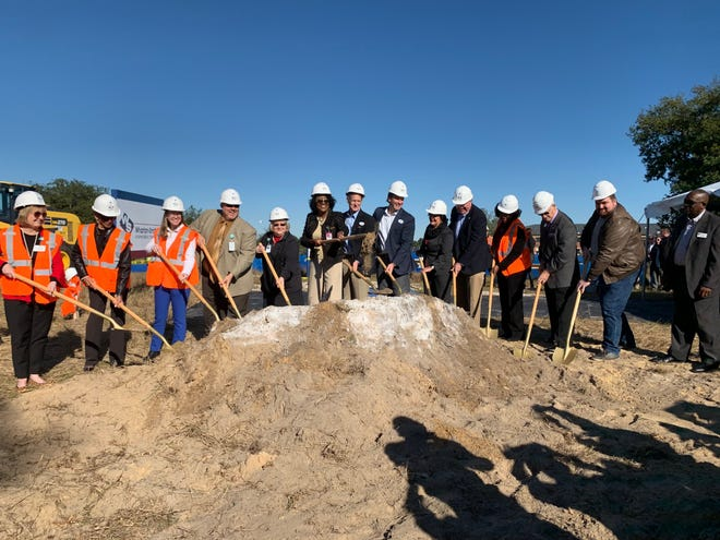 Polk County Public School district officials broke ground on Davenport High School in December 2019.  The $86 million school is scheduled to open in August 2021 on 60 acres adjacent to Davenport School of the Arts.