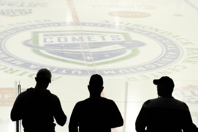 The American Hockey League said Wednesday it has a framework for its season to begin Feb. 5. Notably, fans currently are not allowed at pro sports events under New York state guidelines. Most minor-league teams need revenue from fans in order to operate, but Utica Comets president Rob Esche said the team will work through it.