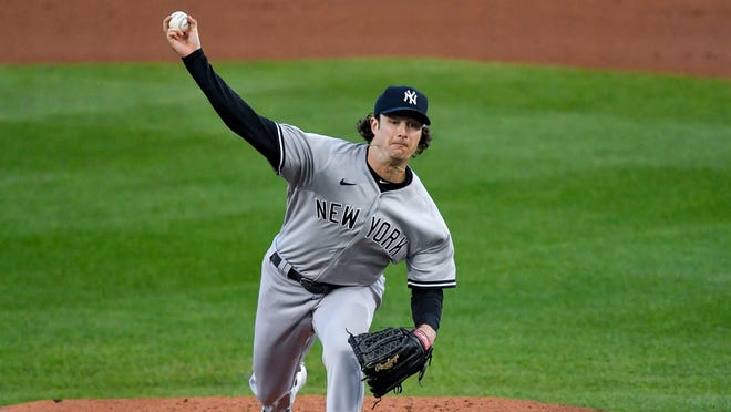 Gerrit Cole will be the mound Tuesday when the New York Yankees open the American League wild-card playoffs against the Cleveland Indians.