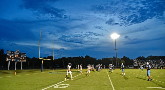 The Out-of-Door Academy football season will begin Friday at The Canterbury School in Fort Myers.