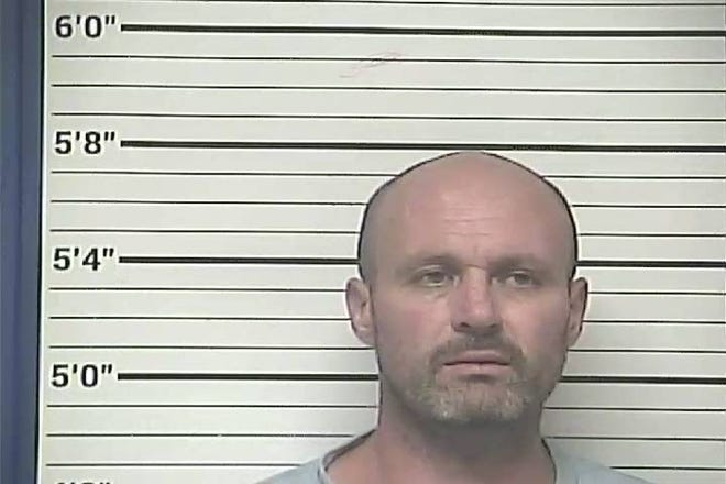 Thomas Jason Swann was arrested on charges of breaking and entering. [Bladen County Sheriff's Office photo]