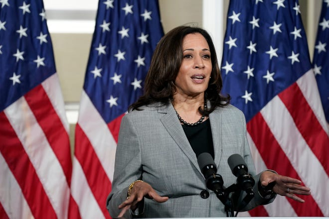 Democratic vice presidential nominee Sen. Kamala Harris plans to make two stops in North Carolina on Wednesday.