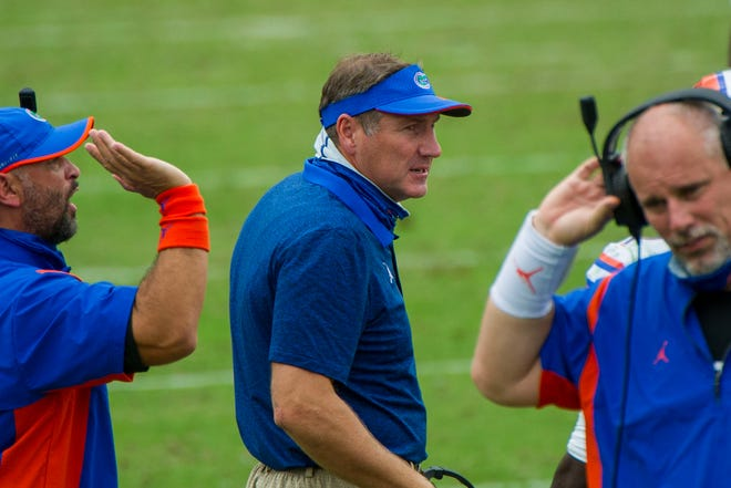 Florida coach Dan Mullen discusses his three new assistants and their in-state recruiting areas.
