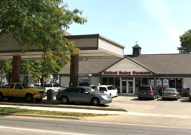 Delaware City Council on Sept. 28 gave United Dairy Farmers permission to raze and rebuild its store at 123 W. William St. Leaders say there's no evidence the project will increase the chances of flooding by Delaware Run, which flows under the site.