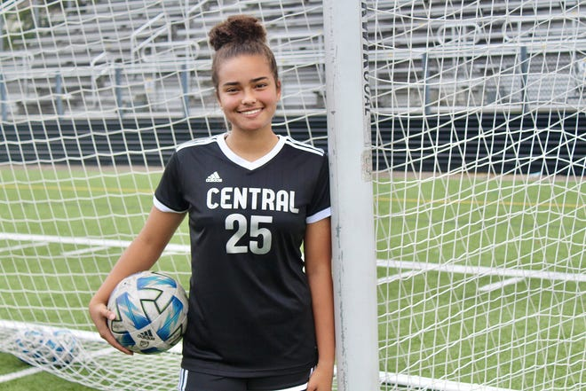 Central senior Lauryn White has returned to the girls soccer team's lineup after missing her entire junior season after undergoing a second surgery for a torn ACL.
