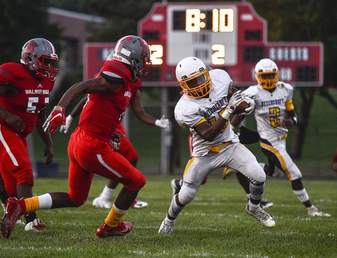 Diante Latham and Beechcroft visit Northland on Thursday, Sept. 17.