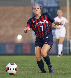 Kendall Jameson and the Grove City girls soccer team were 4-3-3 overall before playing Worthington Kilbourne on Sept. 29.