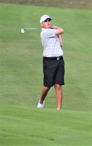 Cooper's Rylan Wotherspoon is the Enquirer's Northern Kentucky/Indiana boys golf player of the year.