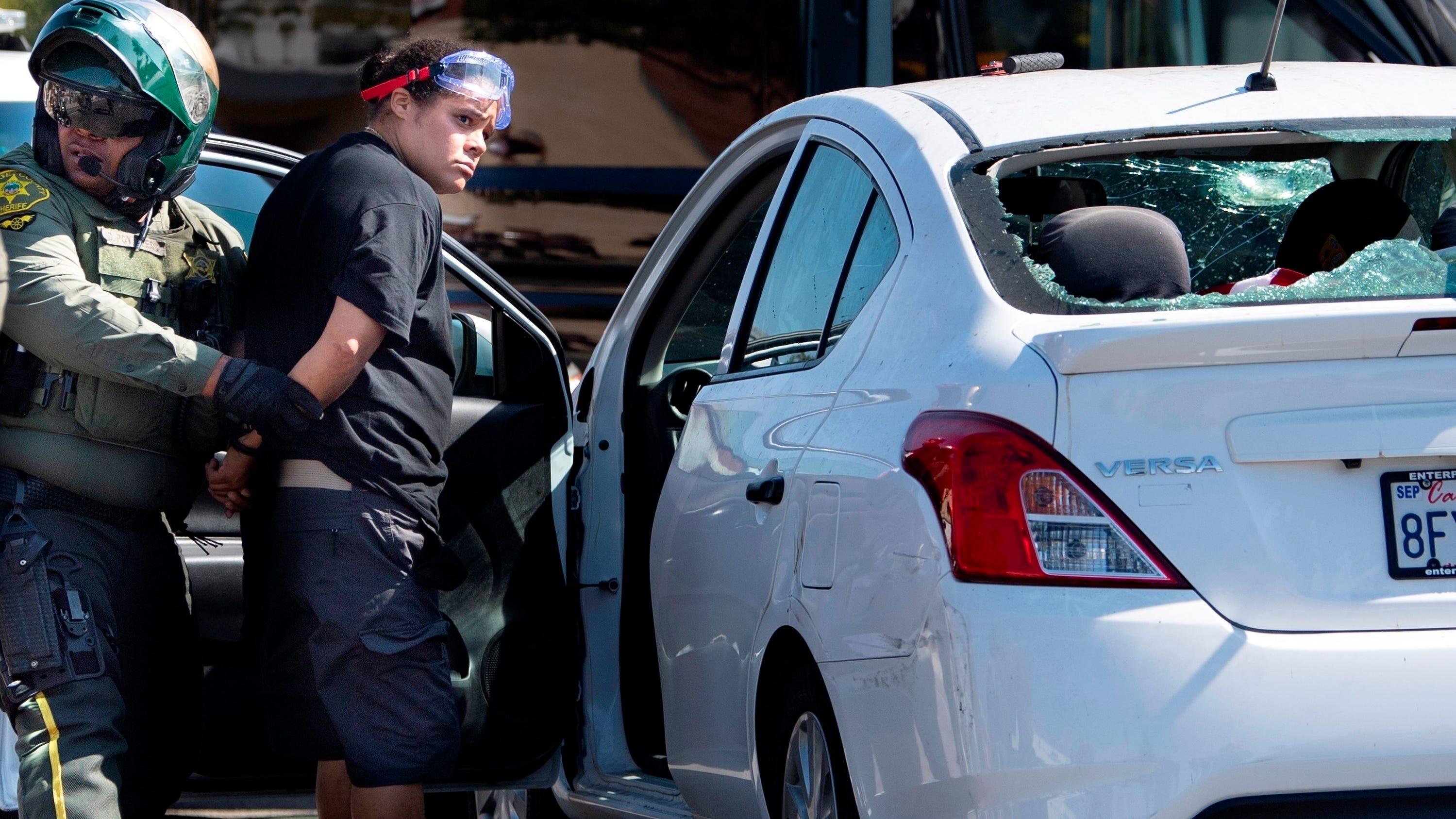 Driver tried to kill California Trump protesters
