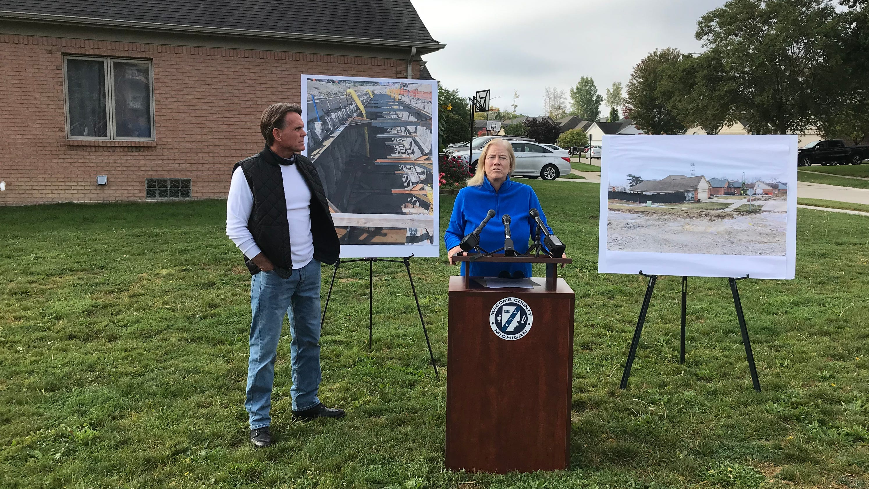 Macomb Co., contractors settle lawsuit over Fraser sinkhole for $12.5M