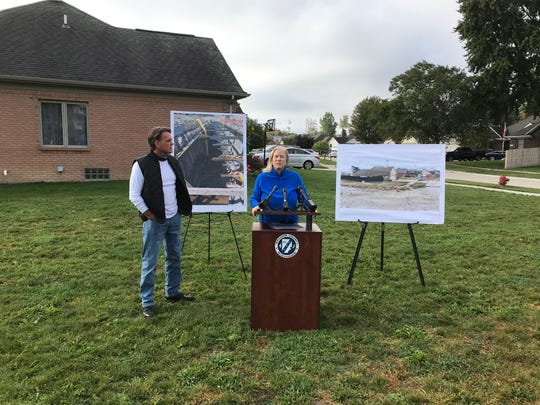 Macomb County Public Works Commissioner announces Tuesday the contractors it sued over a sinkhole that appeared Dec. 24, 2016 on 15 Mile in Fraser have settled the matter for $12.5 million.