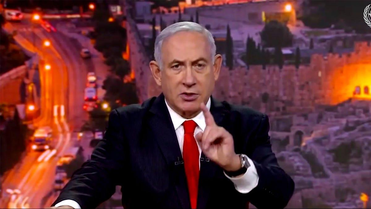 Israeli Prime Minister Benjamin Netanyahu: Hezbollah storing missiles in Beirut