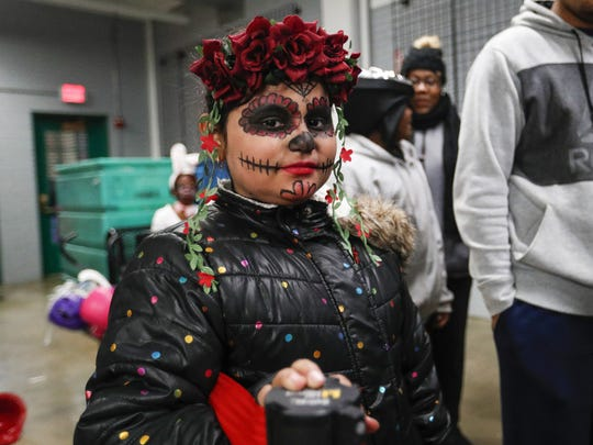 Dayana Valdez attends the 2019 Safe Night Halloween at the Indiana State Fairgrounds. Because of the coronavirus pandemic, the event will not happen this year.